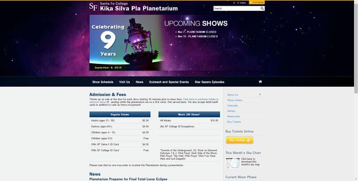 Kika Silva Pla Planetarium   Santa Fe College   Gainesville, FL