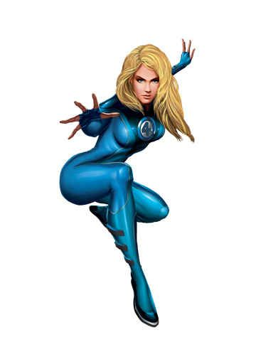 As Invisible Woman