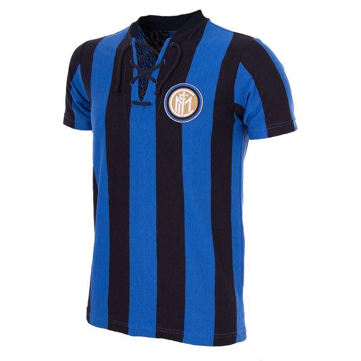 Shop FC Internazionale 1958 - 59 Short Sleeve Retro Football Shirt | 709 | Buy online | COPA