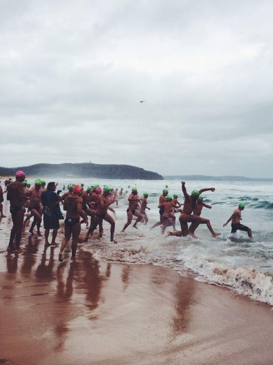 The Big Swim in Palm Beach Australia