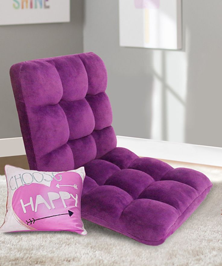Take a look at this Purple Rebecca Recliner Chair today!