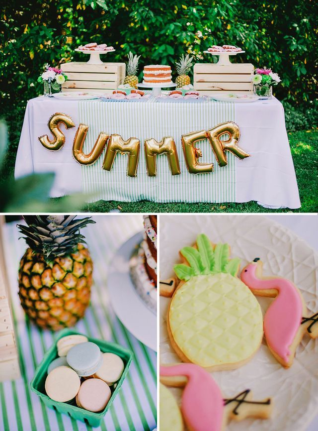 A Colorful, Chic & Fruity SUMMER Kids Party