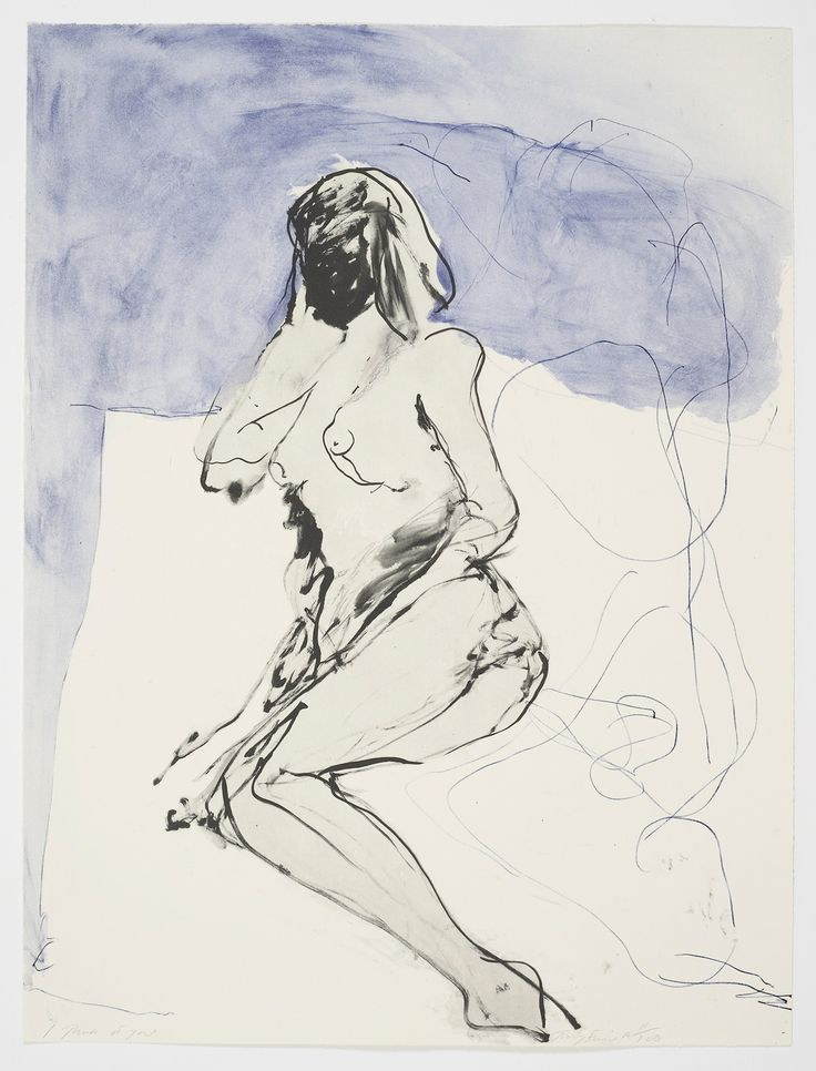 I Think Of You (2014) by Tracey Emin
