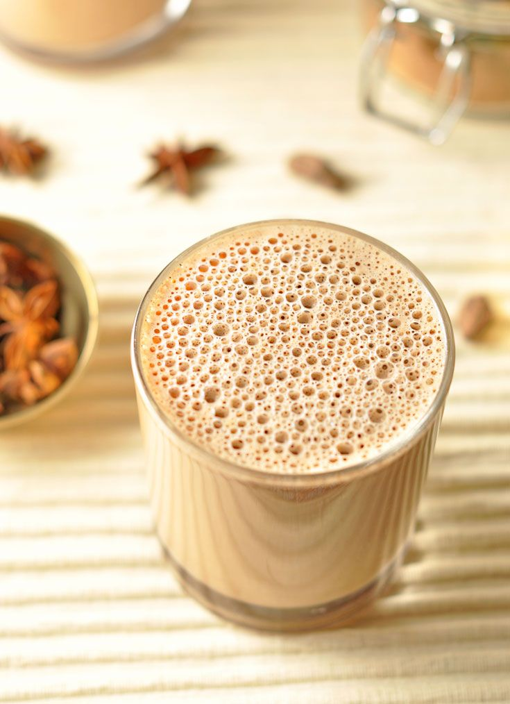 Creamy Chai Tea Latte - Creamy Chai Tea Latte - A coffee shop favourite that's full of flavour and best of all healthy. Caffeine and dairy free.http://www.caseyjade.com/creamy-chai-tea-latte/