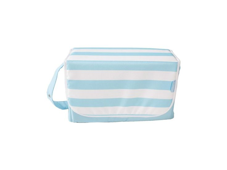My Babiie Baby Changing Bag in Baby Blue Stipes