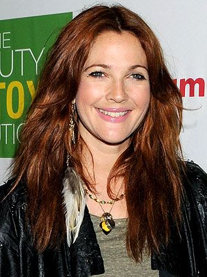 color: Colors Red, Barrymore Dyes, Long Hairstyles, Red Hair, Haircolor, Barrymore Stylists, Drew Barrymore Hair, Auburn Hair Colors, Hair Red