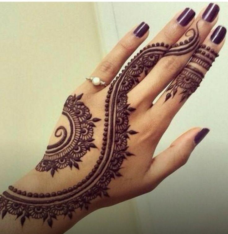 Our External World - Makeup and Beauty Blog: DIY Mehndi Design (Henna Pattern) Tutorial