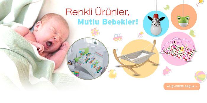 Anne ve bebek ürünlerinde büyük indirim!