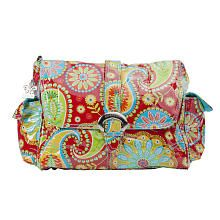 "Kalencom Gypsy Laminated Diaper Bag - Paisley Red - Kalencom Corporation - Babies ""R"" Us Finally, a baby bag I LOVE!!!!!!"
