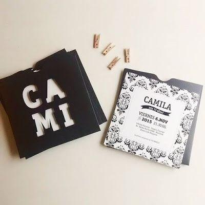 Invitaciones de Casamiento / 15 años / aniversarios especiales INVITACIONES SOBRES CALADOS Lorenza Diseño / facebook: https://www.facebook.com/lorenza.disenoLorenza Diseño