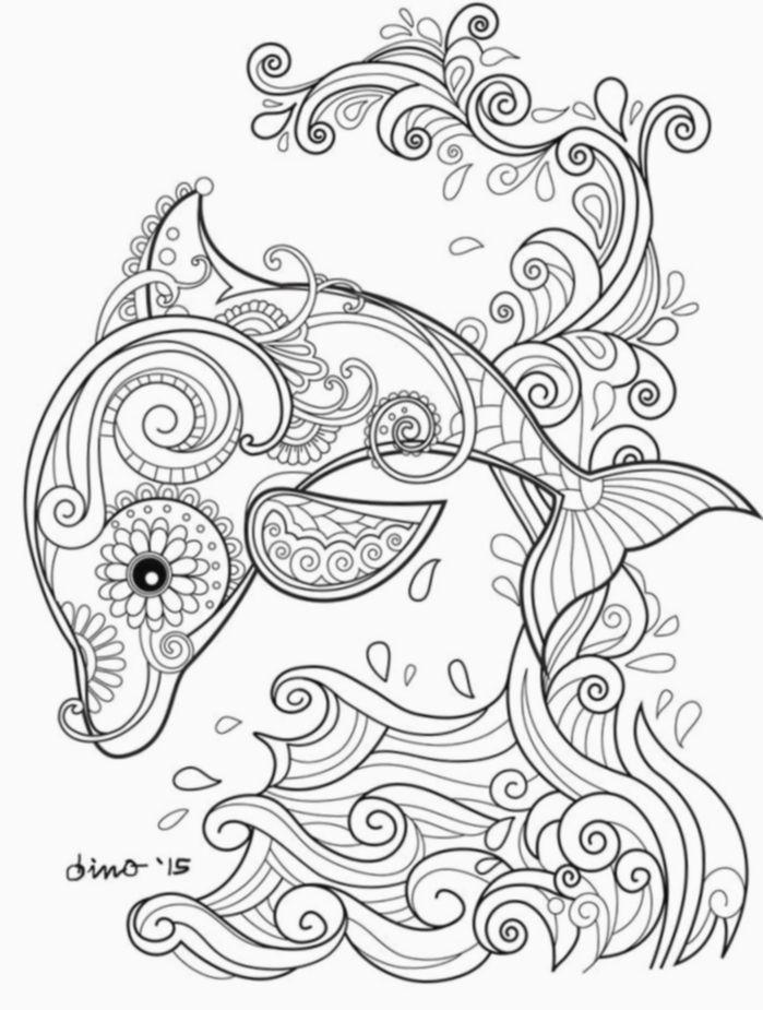 Pin Di Carmela Battista Su Animali Disegni Di Mandala Da Colorare