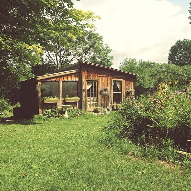 217 best Garden cabins images on Pinterest | Dreams, Small houses ...