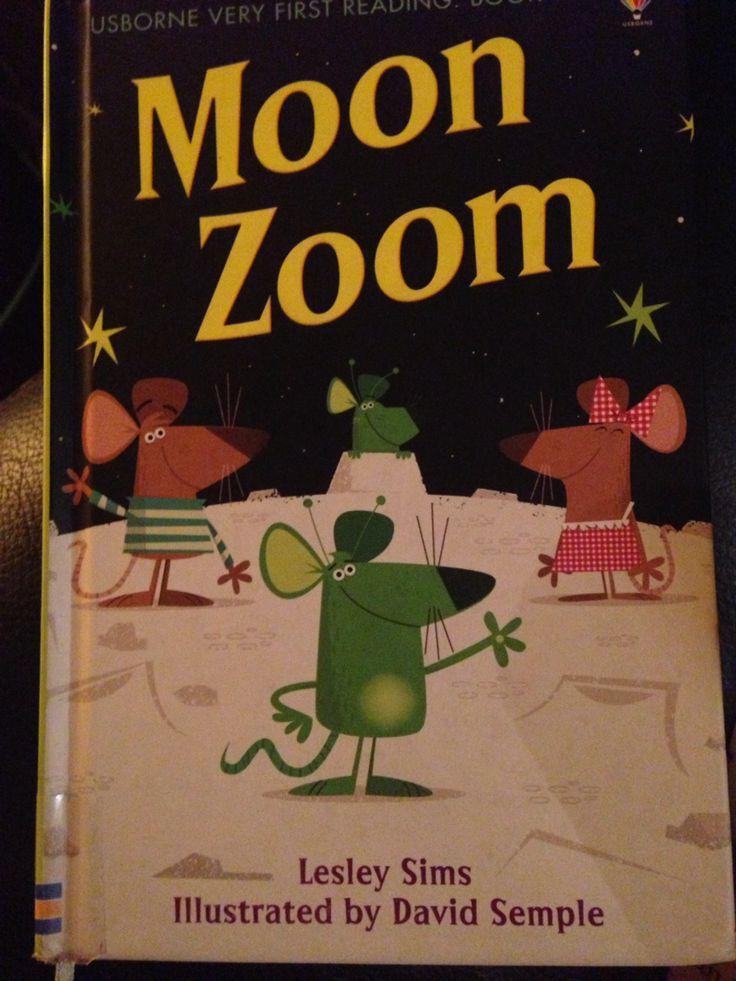 Due topini costruiscono un razzo per raggiungere la luna e... Un libro carino, in rima per bambini che stanno avvicinandosi alla lettura.