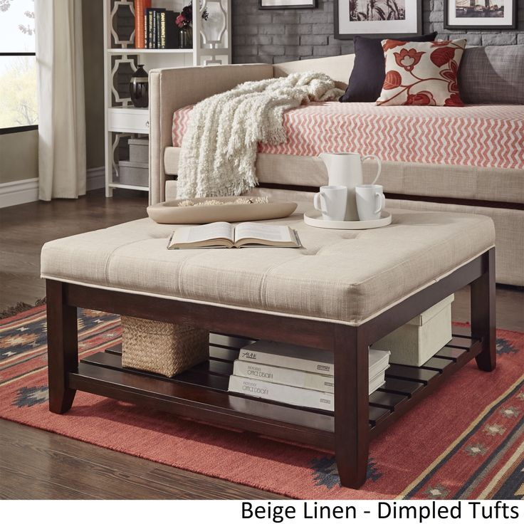 Neptune Coffee Table With Storage Ottomans: 25+ Best Ideas About Storage Ottoman Coffee Table On