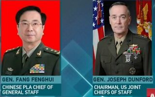 [video] Don't bother China South SeaChina asks US to consider bigger picture of ties    A top Chinese military official has said that when handling the South China Sea issue the United States should look at the bigger picture of the two countries' relations and cherish a mutual trust.  Fang Fenghui Chinese PLA Chief of General Staff held a video conference call on Thursday with US General Joseph Dunford chairman of the Joint Chiefs of Staff.  Fang said both countries should respect the consensus reached by their presidents on building a relationship of non-conflict and non-antagonism. Fang stressed that it is not China which has caused the tension in the South China Sea and the US should avoid doing anything that would jeopardize relations between the armies.  Dunford said conflicts are not in line with the common interests of both countries and the US would like to enhance dialogue with China. He said he hopes all parties will maintain restraint to prevent the situation from escalating.