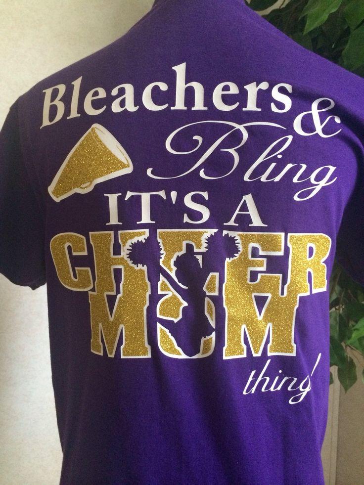 Cheer Mom Glitter Monogram T Shirt by CarolinaSilhouettes on Etsy https://www.etsy.com/listing/244226253/cheer-mom-glitter-monogram-t-shirt