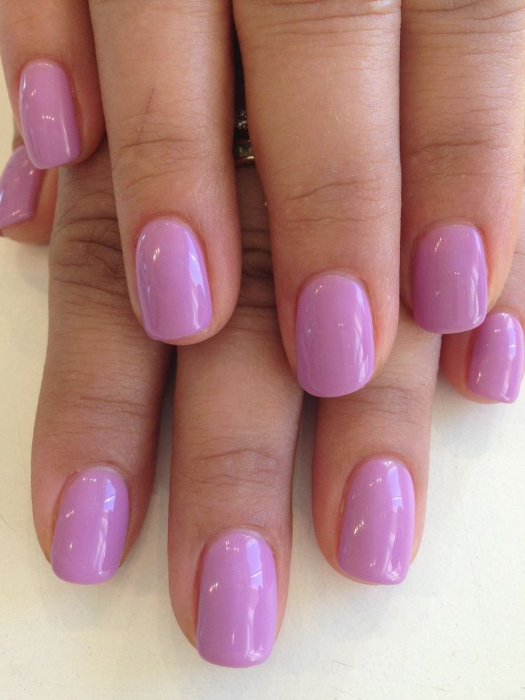 Colour Overlay in Bio Sculpture Gel colour: #64 - Lilac Lullaby