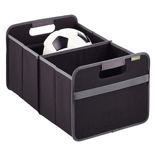 "organize your car - hold kids things, car safety, or things you need on errands you do. ""Black Foldable Box"":"