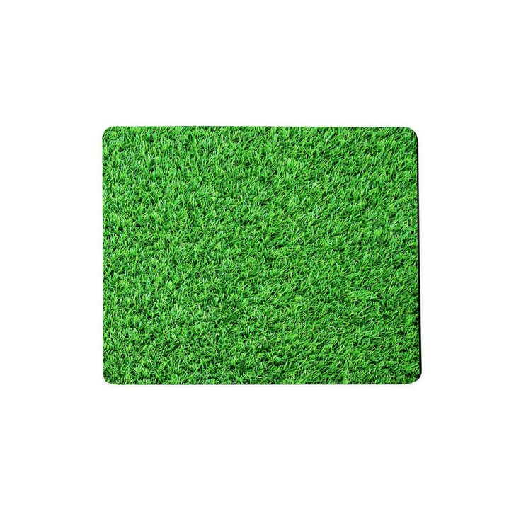 Grass Invasion Mousepad  The grass may be always greener on the other side, but if you turn this mouse pad around, you'll actually only find the darker truth.
