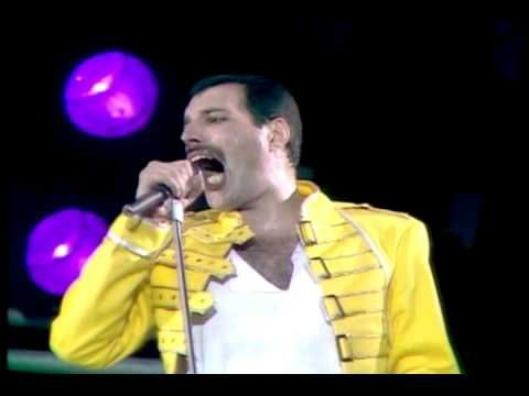 Queen - Another One Bites The Dust (Live at Wembley 11.07.1986) - YouTube