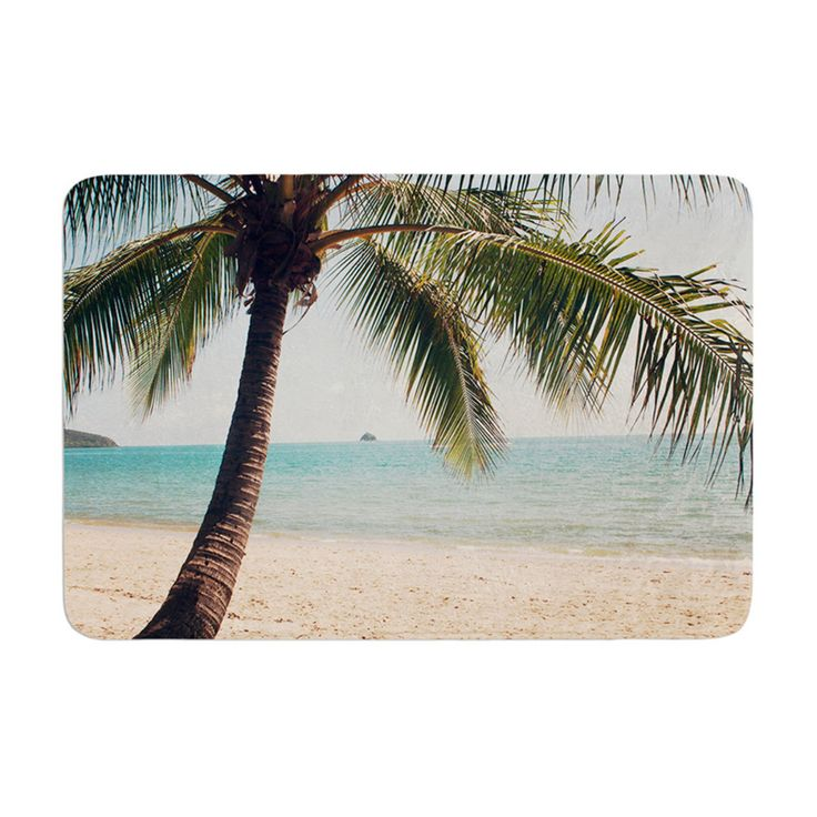 KESS InHouse Catherine McDonald Tropic of Capricorn Ocean Photography Memory Foam Bath Mat - CM1068ABM01
