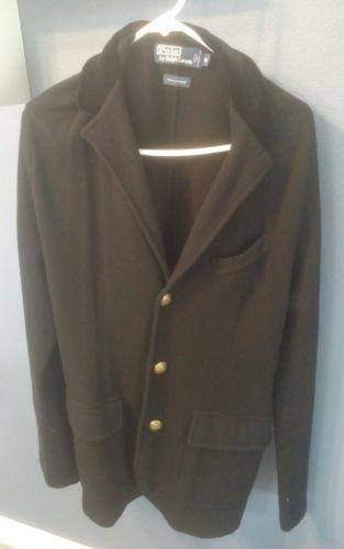 1e4ce572cb3 Ralph Lauren Blazer Sports Coat RL M Medium Polo Cashmere Velvet Sweater  Dinner