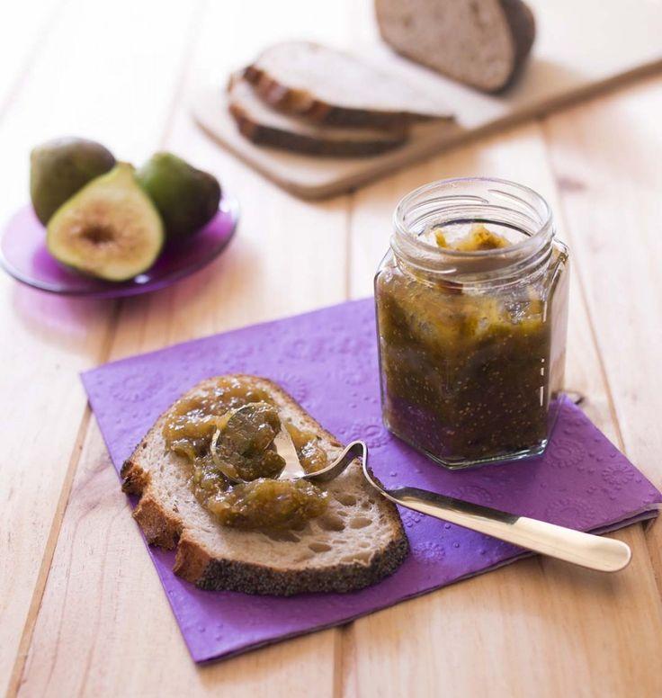 Confiture figue blanche cardamome légère en sucre - Ôdélices : Recettes de cuisine faciles et originales !