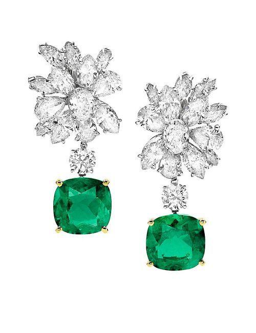 euvieira:  beautyblingjewelry:  Bulgari emerald and fashion love    …things! ♥♥♥