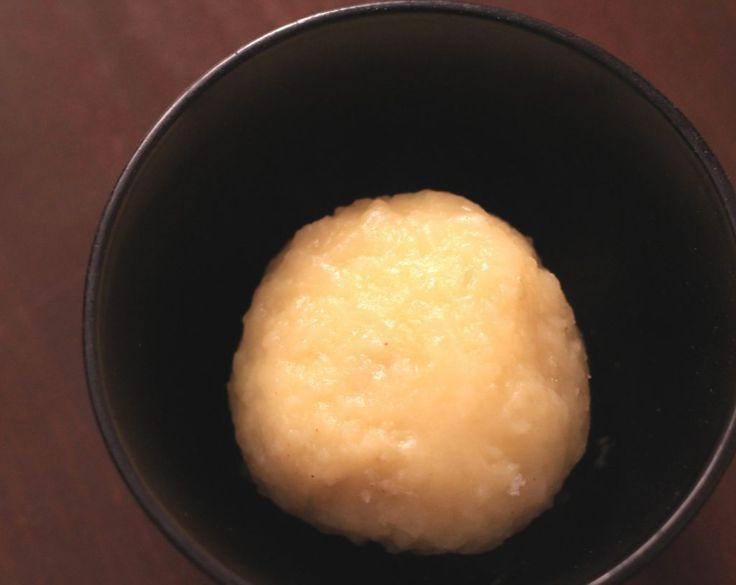 Kartoffelknödel halb-und-halb (aus rohen und gekochten Kartoffeln)