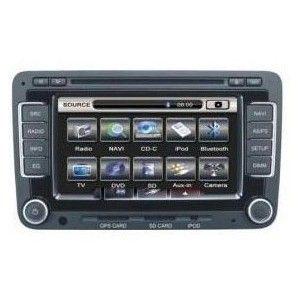 Autoradio DVD GPS VOLKSWAGEN GOLF PASSAT SEAT 2005-2008 avec ecran tactile