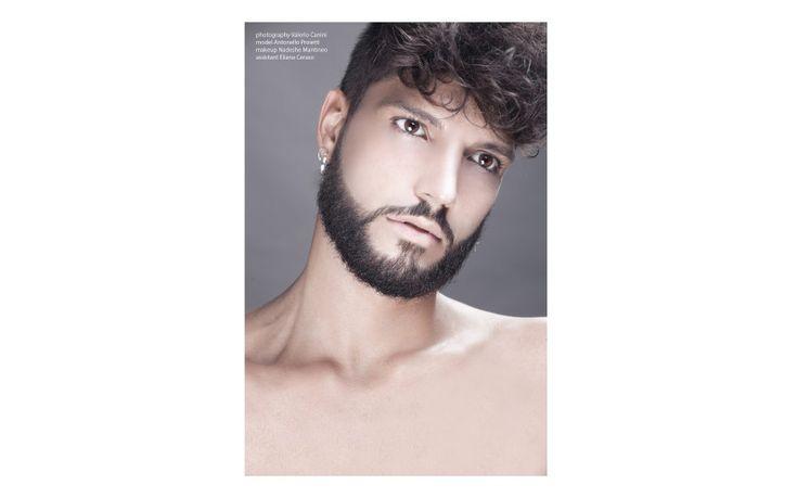 Valerio Canini  model  Antonello Proietti