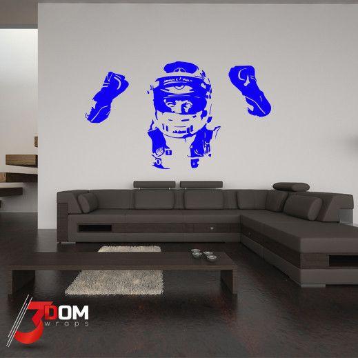Legends Wall Vinyl - Button Silhouette | 3Dom Wraps – 3Dom Wraps Store