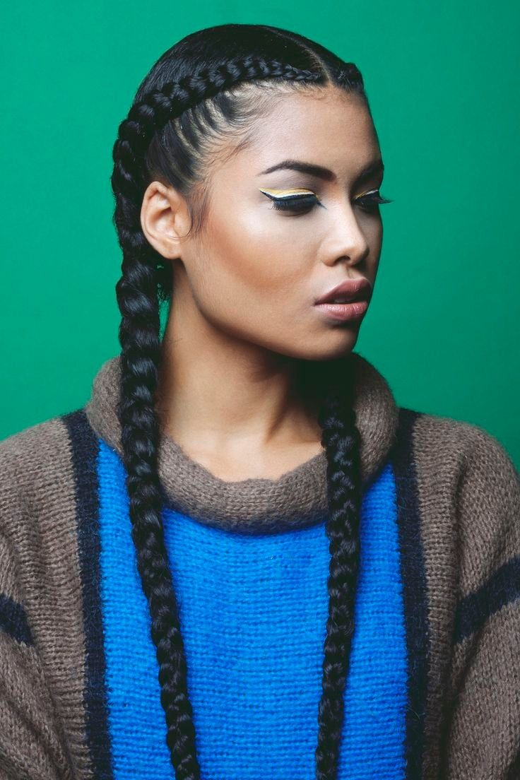 Fabulous 1000 Ideas About Big Cornrows On Pinterest Ghana Braids Braids Short Hairstyles For Black Women Fulllsitofus