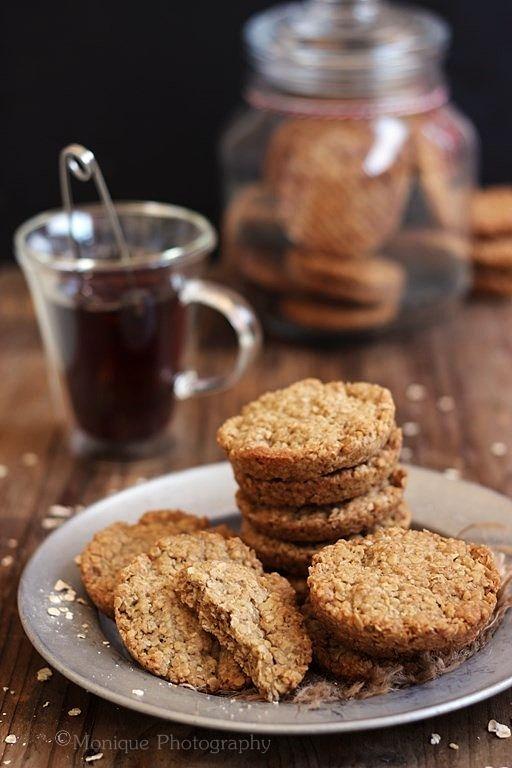 MIEL & RICOTTA: Biscotti d'avena