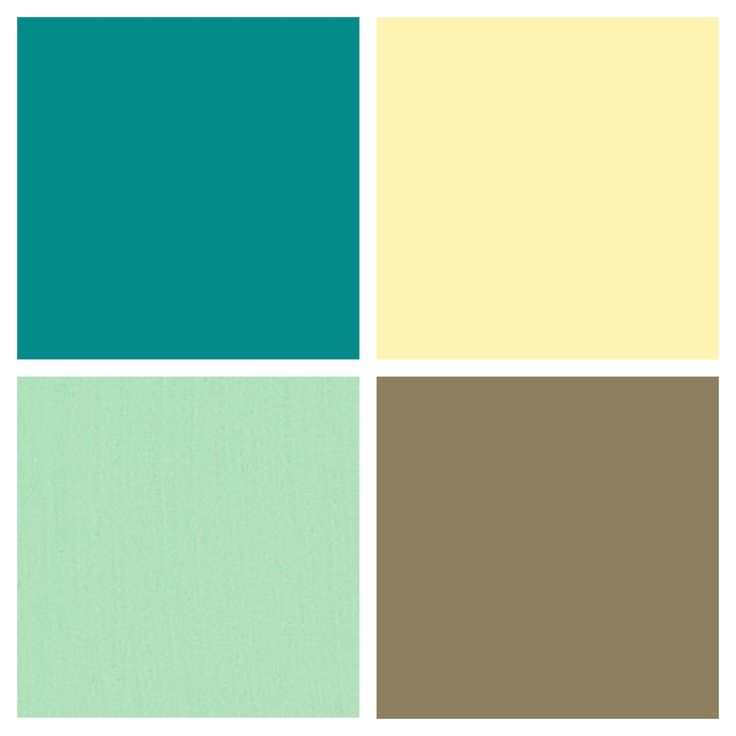 Best Kitchen Color Palette Butter Country Yellow Mint 400 x 300