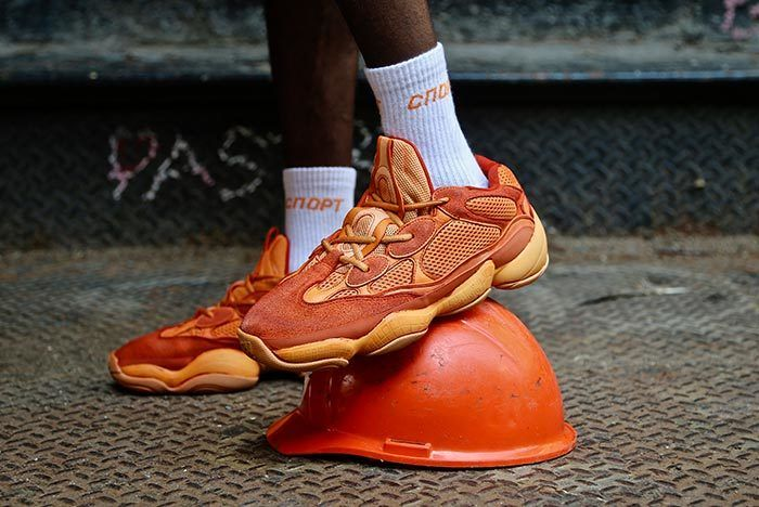 best loved 76d15 d6995 Ceeze Unveil a Scorching adidas Yeezy 500   Adidad yeezy 500 ...