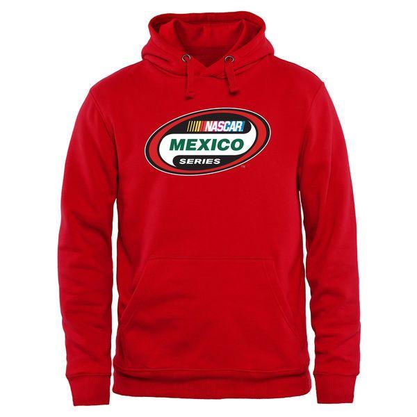 NASCAR Merchandise Women's Mexico Series Pullover Hoodie - Scarlet  - - $49.99
