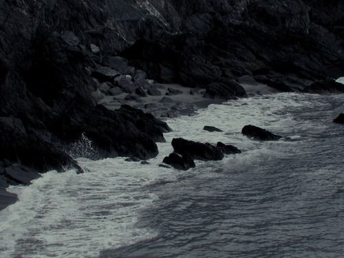 """""""Now what seas, what meanings  can I place in you?""""  - Mary Szybist, from Incarnadine: Poems"""