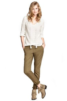 Женские брюки-чинос | Кому подходят и с чем носить женские брюки-чинос