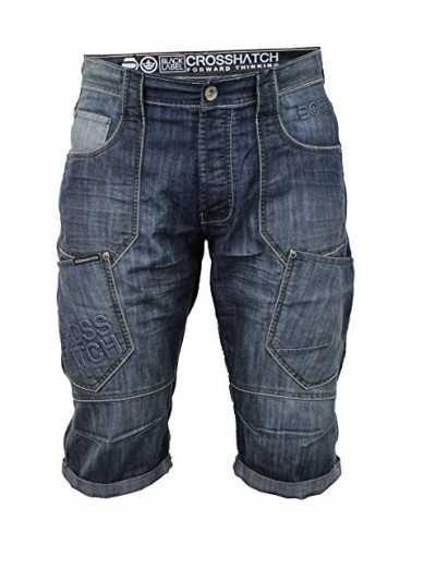 Pantalones Cortos para Hombre Casual Ofertas especiales y promociones  Caracteristicas Del Producto: - Pantalones de elegante Vaqueros By Crosshatch -
