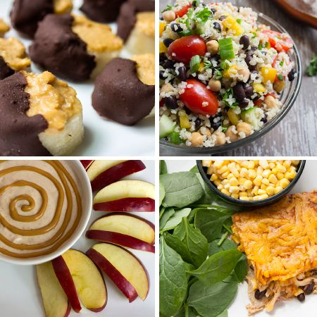 Some great healthy meal and snack recipes!