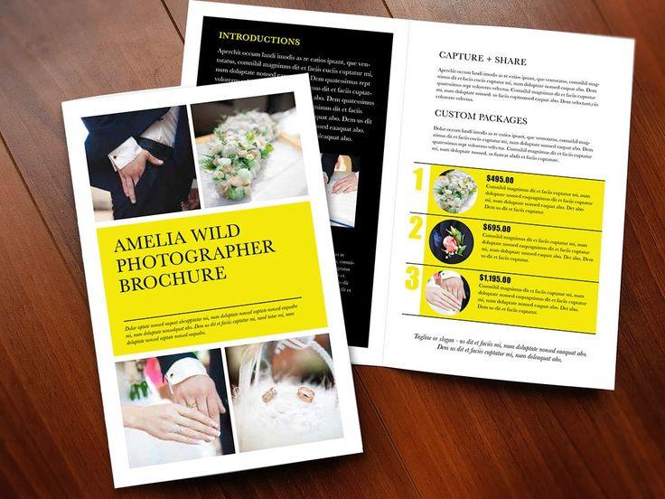 "Bi-fold Brochure Template - ""Half Moon"""