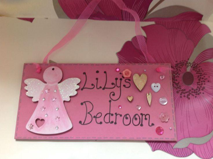 Personalised Bedroom Signs, £10