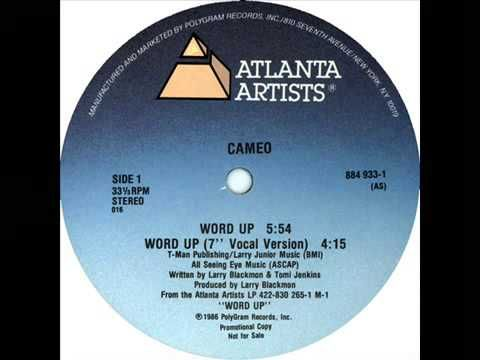 "▶ Cameo - Word Up (12"" Version) - YouTube"