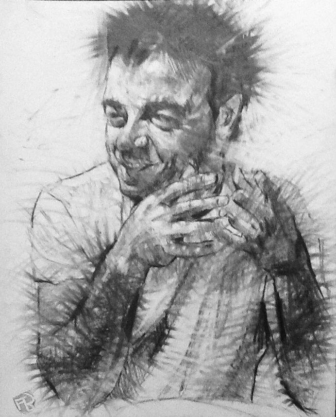 Francesco 2 disegno a grafite