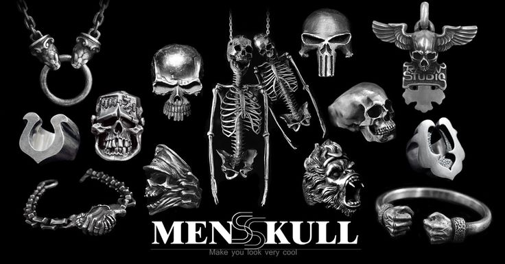 An Exciting Range Of MENSSKULL Mens Jewelry Now Available At Cheap Prices & 365 Days Free Shipping Across The World