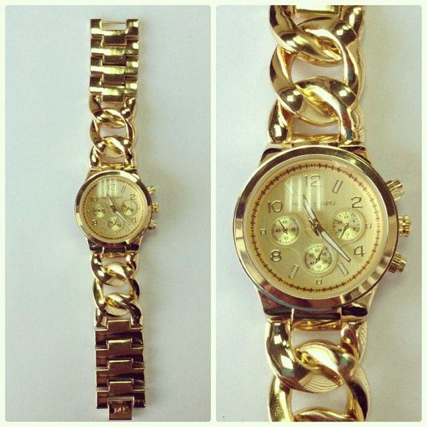 reloj dorado michael kors a98f6f32cae7
