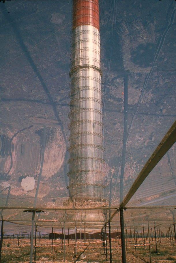 Solar updraft tower at Manzanares Spain  #architecture #solar #updraft #tower #manzanares #spain #photography