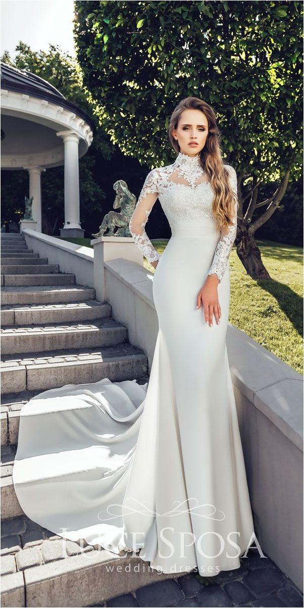 Attractive 107 Best Long Sleeve Lace Wedding Dresses Inspirations https://bridalore.com/2017/12/30/107-best-long-sleeve-lace-wedding-dresses-inspirations/