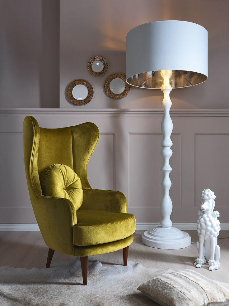 Meblonowak kolekcja Savoia - fotel Carol / armchair